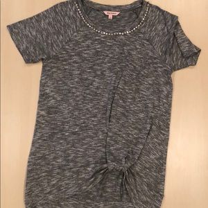 Juicy Couture short sleeve tunic sweater